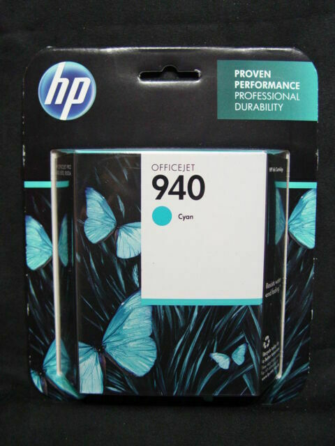 NEW HP #940 C4903A Cyan Ink Cartridge Genuine