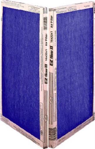 12 x 30 x 1 Fiberlgass Panel Furnace Filters 12 pk