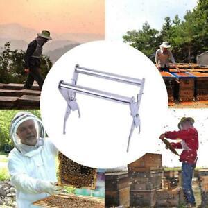 Beekeeping Bee Hive Frame Holder Lifter Clamp Grip Stainless Steel Grip Tool DB