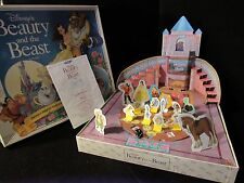 Disney's BEAUTY AND THE BEAST Three Dimensional Board Game Milton Bradley 1991