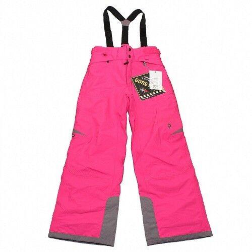 Peak Performance Element Salopette Girls Ski Trouser Gore-Tex Pink RRP  NEW