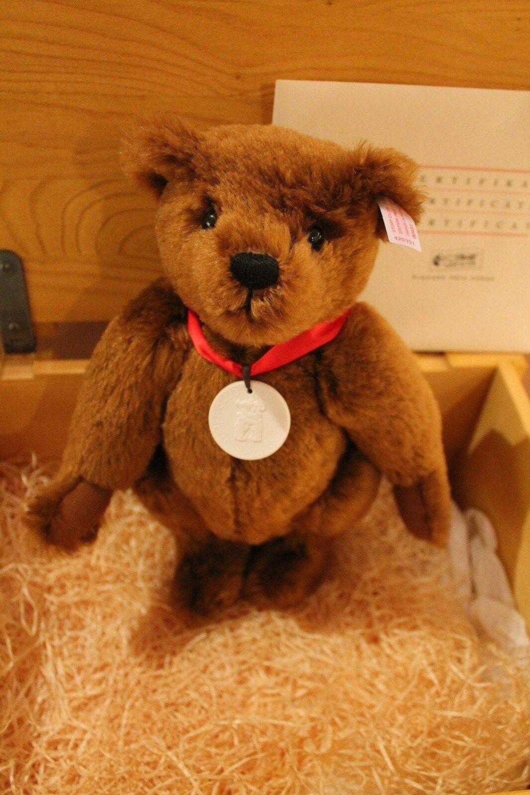 Steiff 420351  Teddybär Messe Leipzig