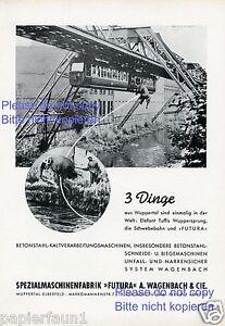Maschinenfabrik-Wagenbach-Wuppertal-Elberfeld-Reklame-1953-Schwebebahn-Elefant