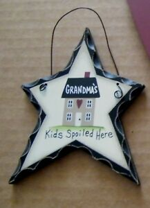 GRANDMA-039-S-KIDS-SPOILED-HERE-country-wood-grandmother-ornament-grandma-gift-sign