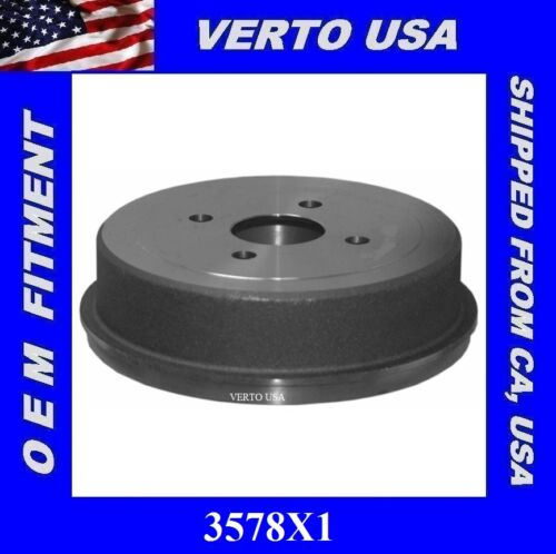 Rear Brake Drum For Toyota Corolla 1993 to 2002 Chevy Prizm 1998 to 2002