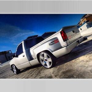 88 98 C10 Chevy Stepside Silverado Camion Spoiler