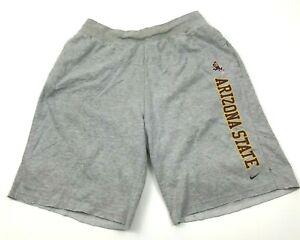 VINTAGE-Nike-Arizona-State-Sun-Devils-Sweat-Shorts-Mens-Size-Extra-Large-XL-Gray