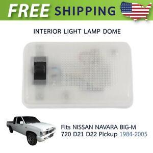 TRS Interior Light Room Lamp Dome Light For 1986-1997 Nissan D21 D22 Navara Frontier Pickup