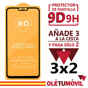 Protector de Pantalla Xiaomi Mi 8 / Mi 8 Lite 9D 9H Cristal Templado