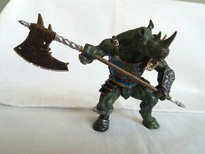 Papo Fantasy World-Rhino Mutant Warrior 38946-NEW Rhino Mutant