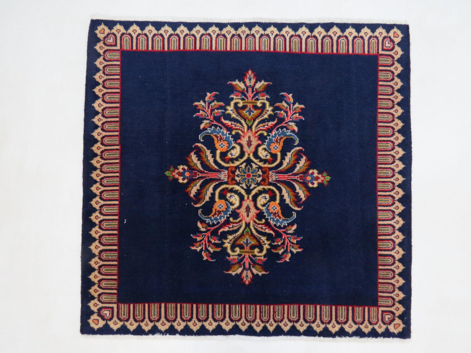 Handgeknüpfter Noble Tapis Oriental (cm 92x94) 92x94) 92x94) Kashan excellent état Persan | Des Technologies Sophistiquées  46897d