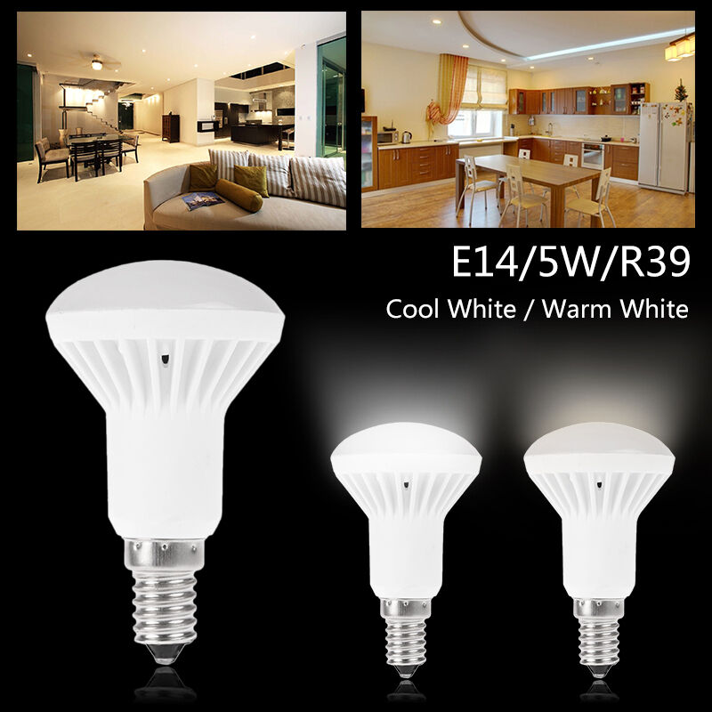 E14 E27 LED Reflector Light Bulbs Cool Warm White R39/R50 ...