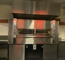Wood Stone Ws Fd 8645 Fire Deck Pizza Oven With Exhaust Hood Nat Gas