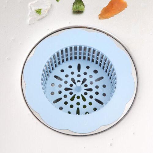 Utile bain déchets de cuisine évier crépine filtre Net Drain Hair Catcher Bouchon