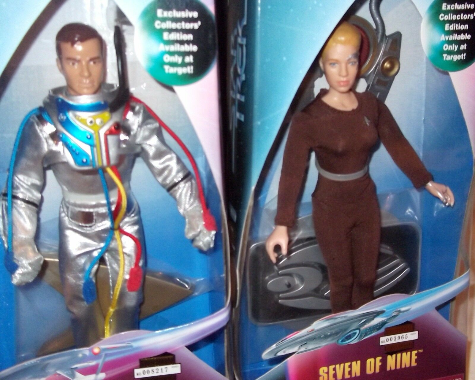 Star Trek PLAYMATE Target XCLSV 9