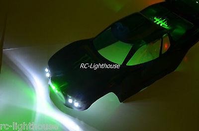 Traxxas Rustler VXL VX-5 E-Revo Stampede LED Light Set (Body Not Included) #46