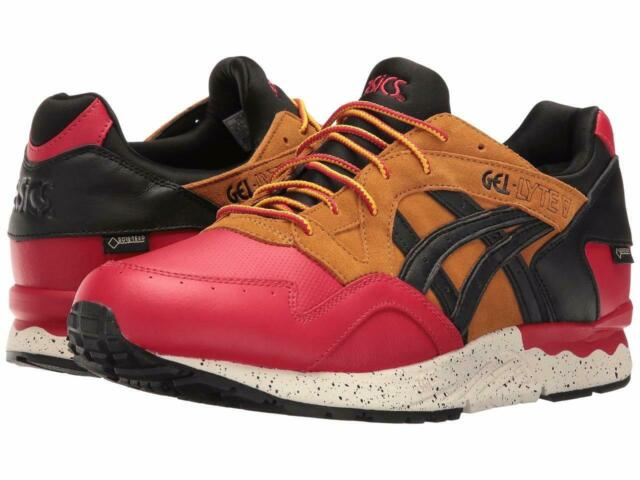 premium selection f8687 80e8d New Asics Gel-Lyte V G-TX GoreTex Shoes Men's Size 8 HL6E2-2590 Red