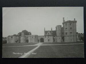 Gloucestershire-Bristol-THORNBURY-CASTLE-West-Old-RP-Postcard-by-D-H-Poole