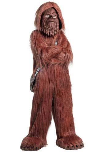 Chewbacca Wookie Chewie PREMIUM Deluxe Star Wars Kids Childs Childrens Costume