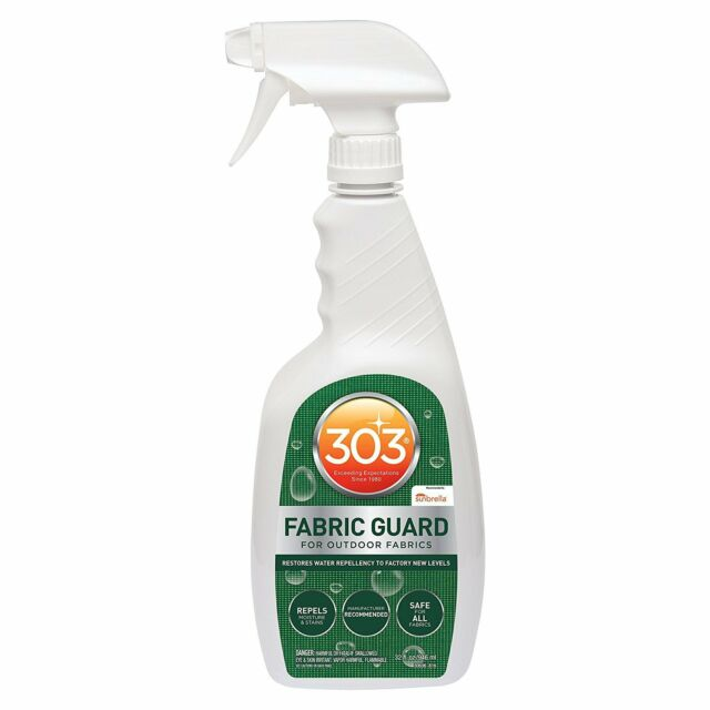 303 Outdoor Fabric Guard Stain Protector Repellant Spray Treatment, 32 Ounces
