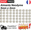 Lot-50-Aimants-Frigo-Neodyme-Neodium-Rond-Fort-Strong-Magnet-5-mm-x-2-mm-NEUF miniature 1