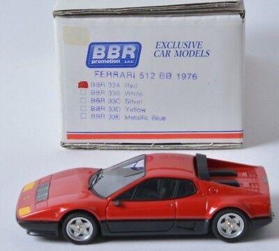 1/43 Bbr Ferrari 512 Bb Street 1976 / N Amr Le Phoenix