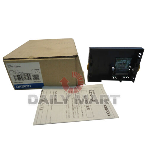 OMRON CJ1W-TER01 SYSTEM POWER EXPANSION PLC MODULE NEW