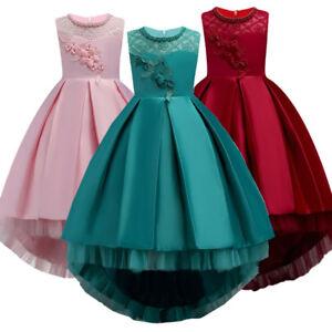 Details About Vestidos De Fiesta De Niña Ropa De Moda Elegante Para Fiesta De Cumpleaños