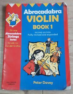 Belle Abracadabra Violin Book 1-afficher Le Titre D'origine Nous Prenons Les Clients Comme Nos Dieux