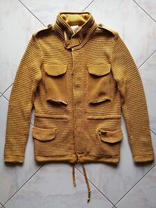 Jacket hooded Golden Con YellowM BarkGiacca Cappuccio RLcq3AjS54