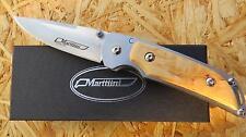 Marttiini MFK2 Taschenmesser Messer Einhandmesser Maserbirke Finnland 183512 Neu