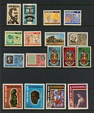 Rhodesia  small MNH collection - see scan   J364