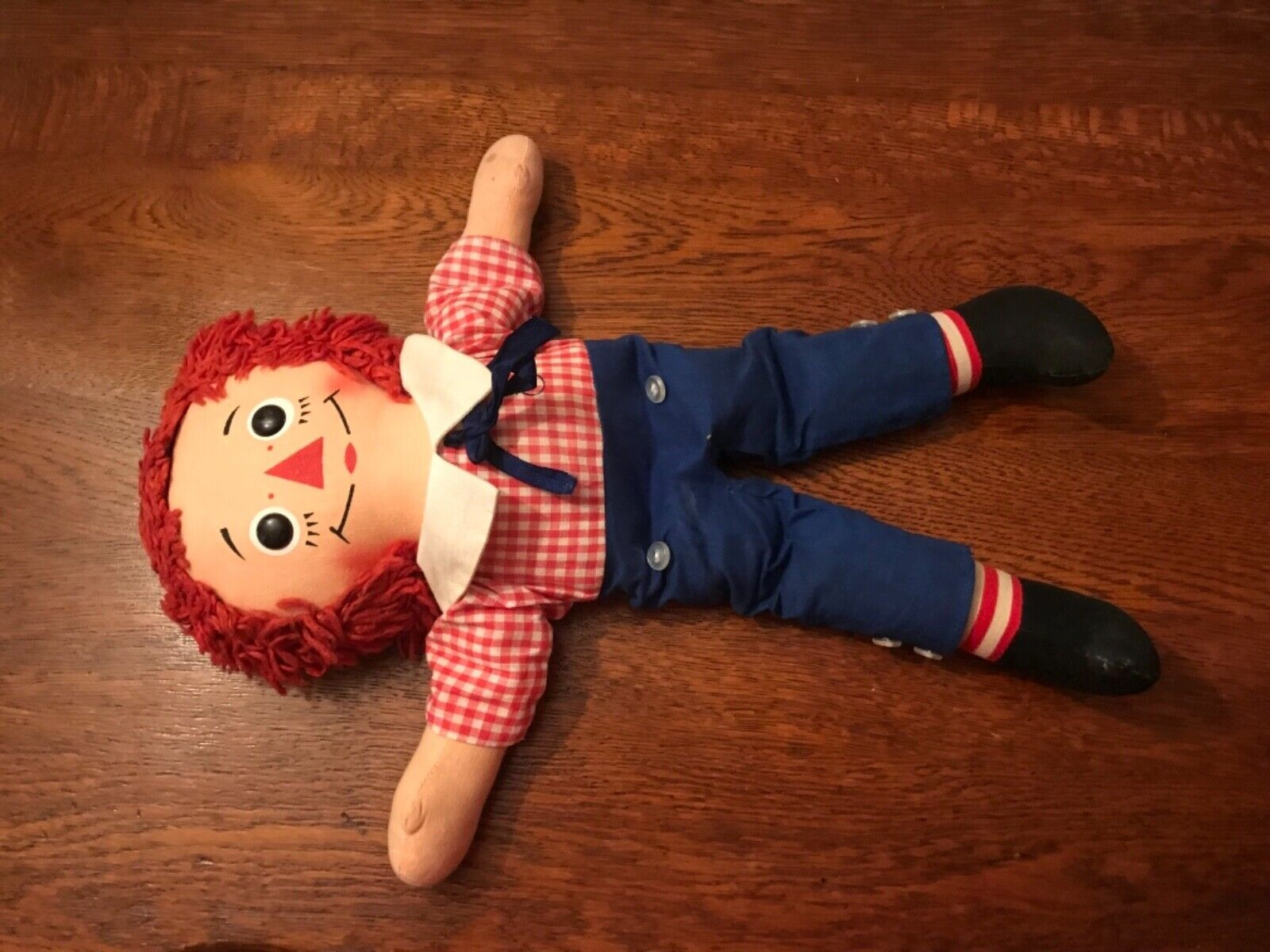 Jahr Raggedy Ann and Andy Dolls EUC (Masse of 2 Dolls)