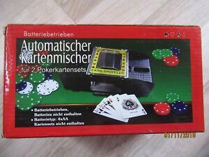 Automatischer Kartenmischer, Batteriebetrieben ( Batterien nicht enthalten )-NEU - Hamburg, Deutschland - Automatischer Kartenmischer, Batteriebetrieben ( Batterien nicht enthalten )-NEU - Hamburg, Deutschland