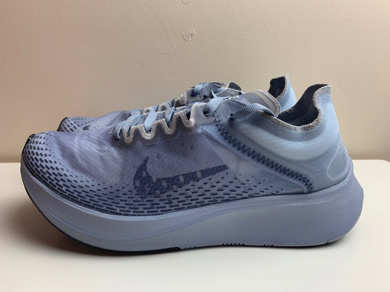 Nike Zoom Fly SP Fast Running shoes bluee AT5242 440