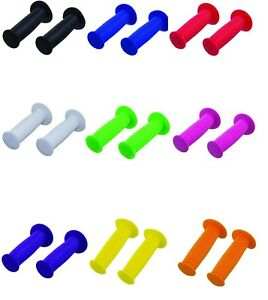 NEW-Mushroom-Bicycle-Handlebar-GRIPS-Lowrider-Cruiser-Kids-Bike-pair-ALL-COLORS