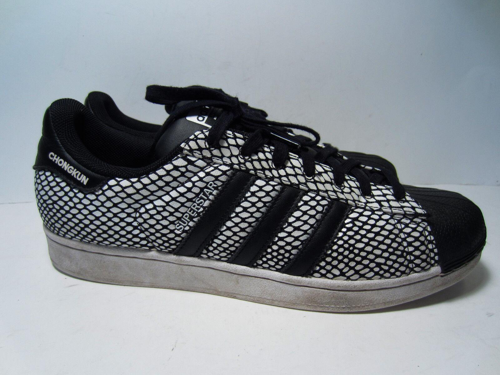 Hombres adidas zapatos superstar chongkun frances Francia zapatos adidas comodos modelo mas vendido de la marca 9912ec