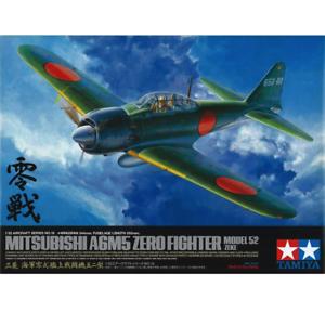 Tamiya 60318 Mitsubishi A6M5 Zero Fighter Model 52 (Zeke) 1 32