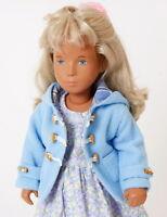 Pale Blue Duffle Coat For Vintage Sasha And Gregor Dolls