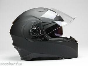 Integralhelm-Motorradhelm-Rollerhelm-mit-integrierter-Sonnenschutz-S-M-L-XL