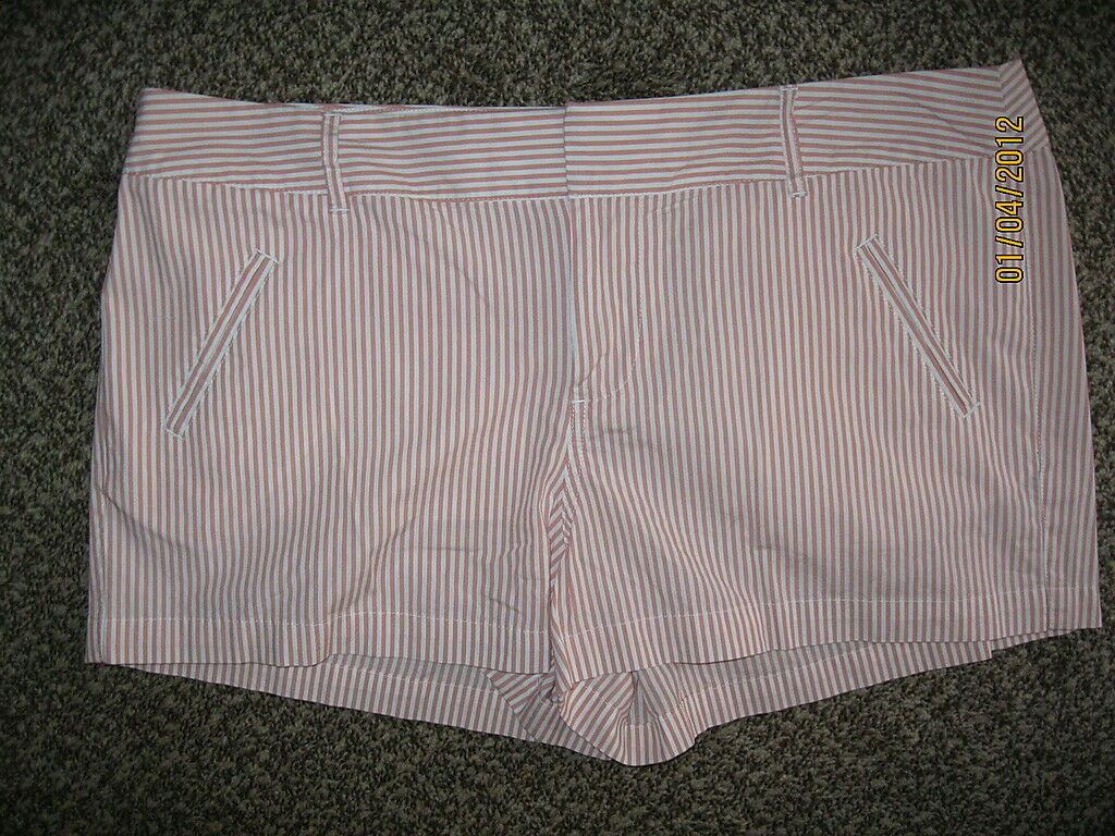 LC LAUREN CONRAD PINK COTTON SIZE 14  SHORTS  NWT