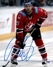 Dan Boyle SIGNED 8x10 Photo Team Canada Olympic ITP PSA/DNA AUTOGRAPHED