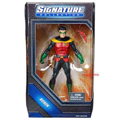 "DC UNIVERSE SIGNATURE COLLECTION ROBIN DAMIAN WAYNE 6/"" Action Figure"