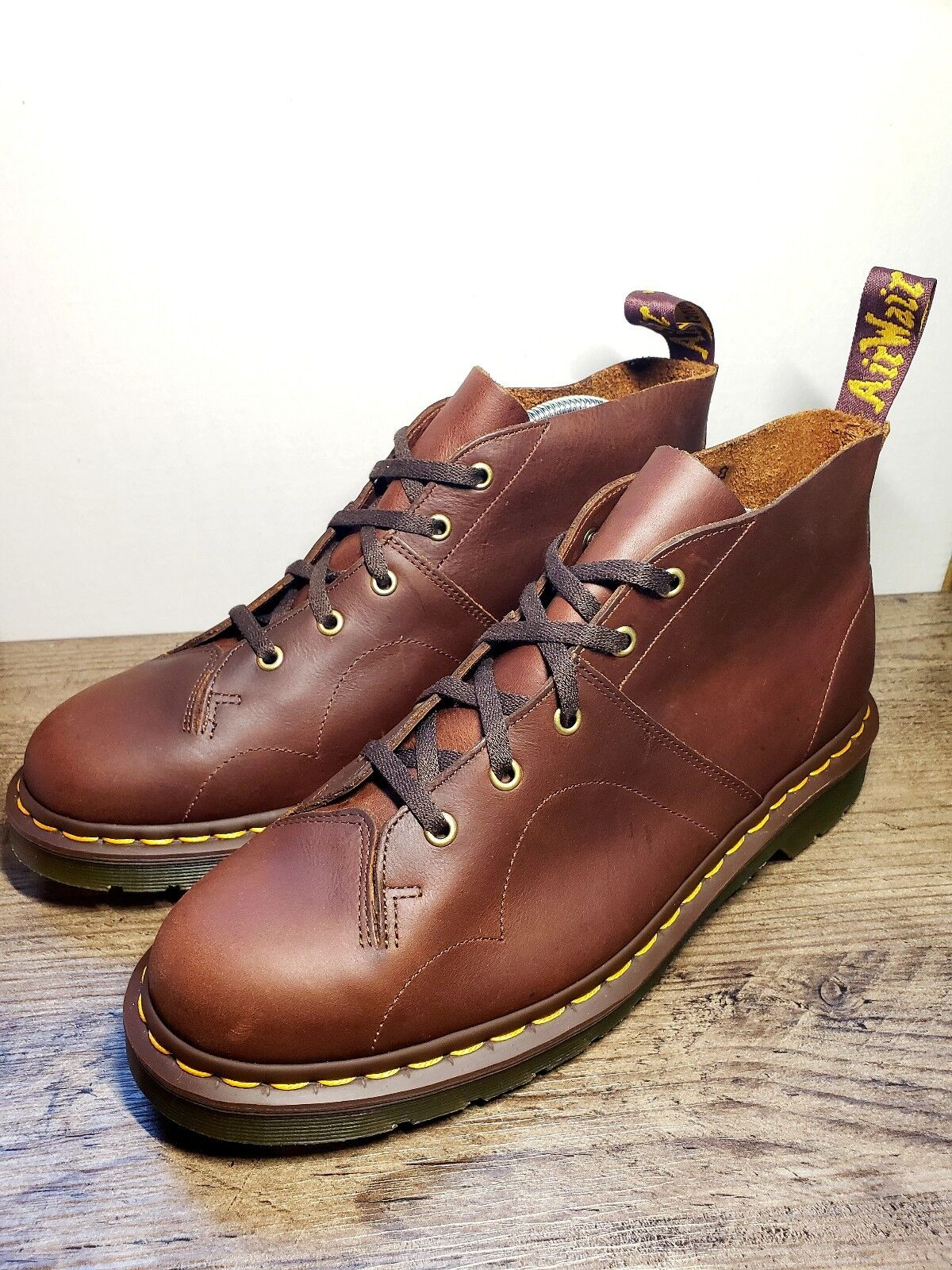 Dr. Martens Church Oxblood VINTAGE SMOOTH SMOOTH SMOOTH Pelle BOOTS 5-EYE    11 / f264bf