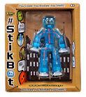 StikBot Figure Dark Blue Animation Zing Brainstorm Toy