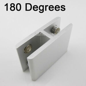 Details about 50PCS Glass Clamps Clips 10~12mm Glass Shelf Holder Support  Brackets Connectors