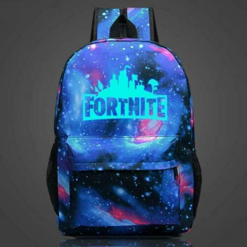 Kids Boys School Book Bags Pokemon Gengar Galaxy Backpack Rucksack Laptop Travel