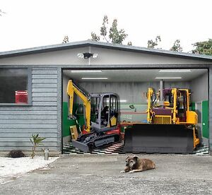 Beau Image Is Loading 3D Excavator Garage Door Murals Wall Print Decal