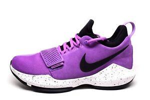 42eafde7f7c Image is loading Nike-PG-1-Bright-Violet-Black-White-878627-