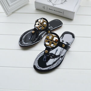 New Fashion Womens Summer Sandals Flat Slippers Personality Flip Flops Shoes